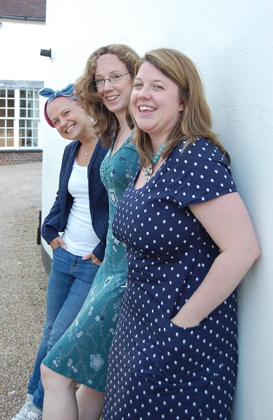 Esther, Marian & Lorna - 2014 Festival Directors