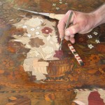 Marquetry Repairs, photo by John LLoyd