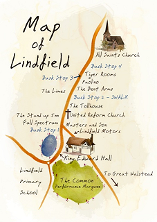 Lindfield Arts Festival Map